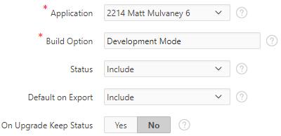 APEX developer mode