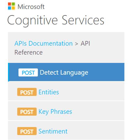 Azure Text Analytics AI