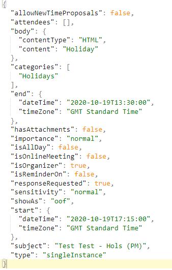 Microsoft Graph REST API