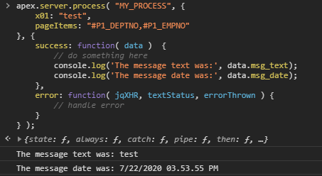 When to AJAX Callback vrs. When to Dynamic Action