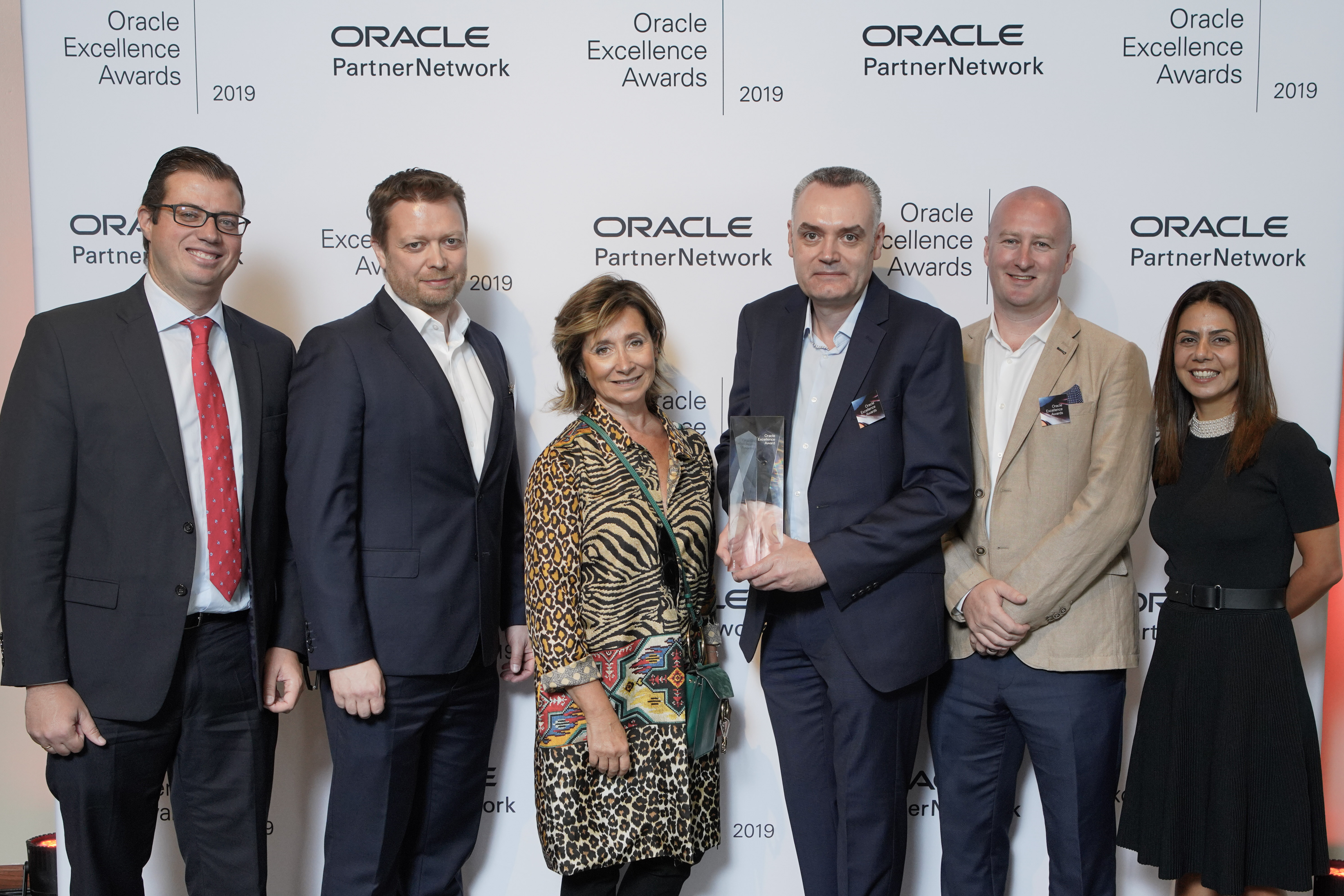 Explorer Recognised in Global Oracle Excellence Awards for Volume Sales in EMEA