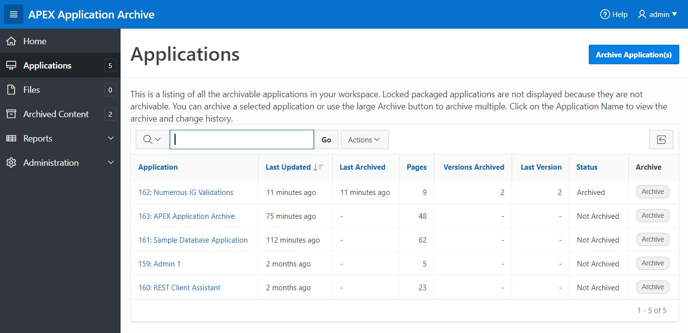 Oracle Forms Tabular Data-Blocks in APEX