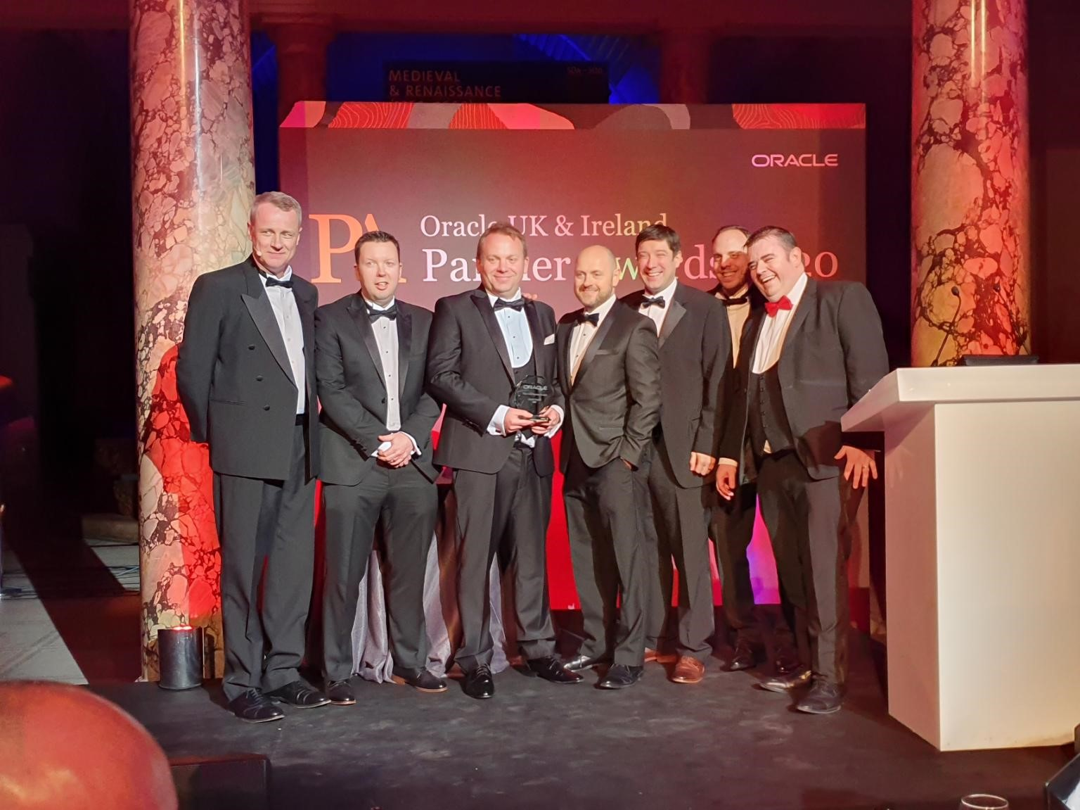OD Winners - Oracle UK & Ireland Partner of the Year Awards 2020